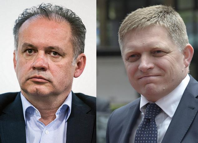 Independent challenger Andrej Kiska and PM Robert Fico will run for a second round of Slovakia's presidential elections