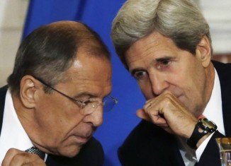 John Kerry told Russian counterpart Sergei Lavrov that Crimea is part of Ukraine and Moscow should avoid military escalation