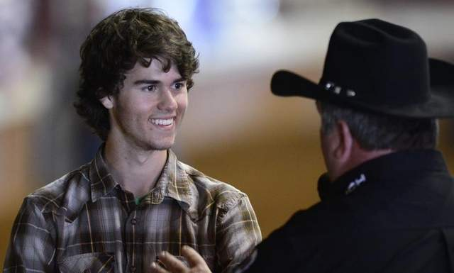 John Luke Robertson attended the annual Southeastern Livestock Exposition Rodeo at the Garrett Coliseum in Montgomery