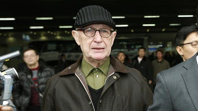 John Short was detained in North Korea last month after it was reported that he distributed religious material