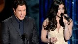 John Travolta made a gaffe during last night's Oscars ceremony as he took to the stage to introduce Idina Menzel