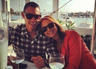 Just a few weeks after she secretly married boyfriend Jared Pobre in