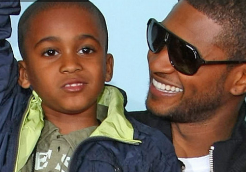 Kile Glover had been raised by Usher since the age of four