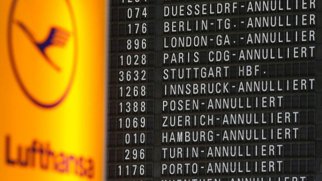 Lufthansa has announced the cancelation of 3,800 flights for this week because its pilots strike