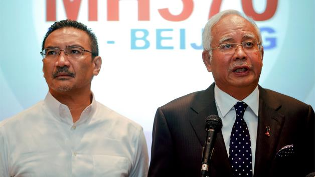 Malaysia's PM Najib Razak has said the communications systems of the missing flight MH370 were deliberately disabled