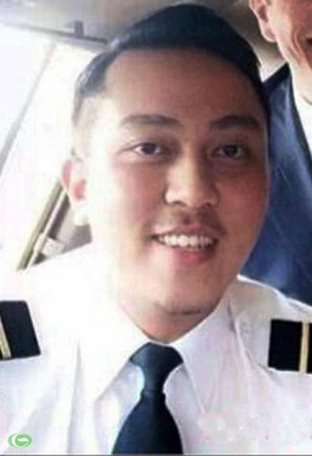 Missing flight MH370's co-pilot Fariq Abdul Hamid spoke the last words to ground controllers before the plane vanished