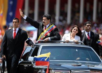 Nicolas Maduro announced that Venezuela has broken diplomatic relations and frozen economic ties with Panama
