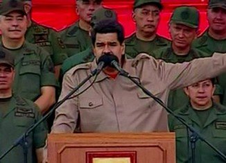Nicolas Maduro has urged the US to discuss peace and sovereignty in a high level commission mediated by the UNASUR