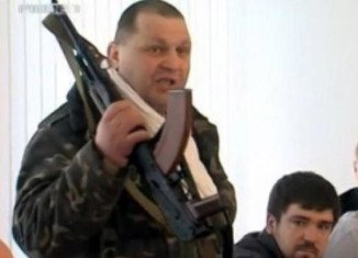 Oleksandr Muzychko, better known as Sashko Bilyi, died in a shoot-out with police in a cafe in Rivne in western Ukraine