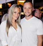 Oscar Pistorius had blood on his arm after shooting Reeva Steenkamp last year