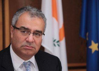 Panicos Demetriades has resigned after being criticized for his handling of Cyprus' 10 bn-euro bailout