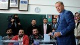 Recep Tayyip Erdogan's party has taken a strong lead in Turkey's local elections