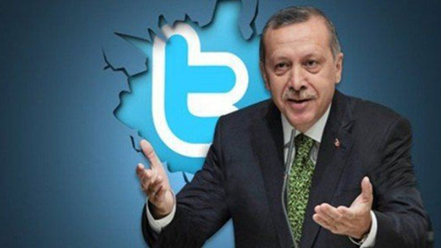 Recep Tayyip Erdogan is angry that people used Twitter to spread allegations of corruption in his inner circle