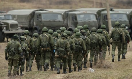 Russia has taken de facto armed control in Ukraine's Crimea region