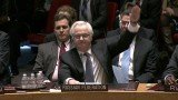 Russia's envoy Vitaly Churkin told the Security Council he would vote against the resolution