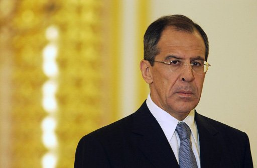 Sergei Lavrov confirmed Russia had contacts with Ukraine's interim government but said Kiev was beholden to the radical right
