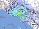 The earthquake struck 5.6 miles from the Los Angeles neighborhood of Westwood