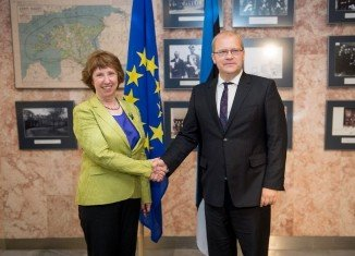 The phone conversation between EU's Catherine Ashton and Estonian Foreign Minister Urmas Paet on Ukraine has been leaked online