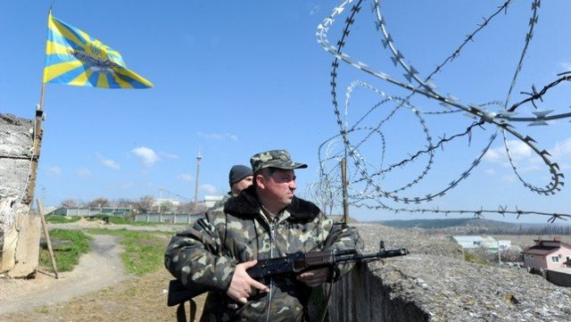The situation remains tense on the long Ukrainian-Russian border