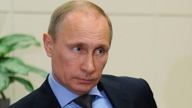 Vladimir Putin has formally informed the Russian parliament of Crimea's request to join the Russian Federation