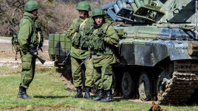 """Vladimir Putin has ordered a """"partial withdrawal"""" of troops from the border with Ukraine"""