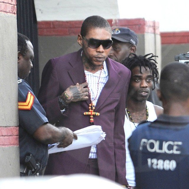 Vybz Kartel has been found guilty of murder in a high profile trial in Jamaica 640x640 photo