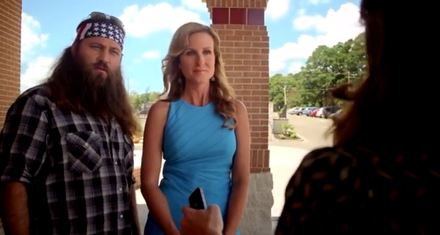 Willie and Korie Robertson guest star in the forthcoming film God's Not Dead photo