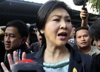 Yingluck Shinawatra leads a government that won elections in 2011 with broad support from rural areas