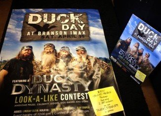 About 60 bearded men participated at the Duck Dynasty Look-a-Like Contest at the IMAX Theater in Branson