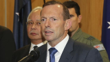 Australian PM Tony Abbott said he was confident pings detected by search teams were from the missing Malaysia Airlines plane's black boxes