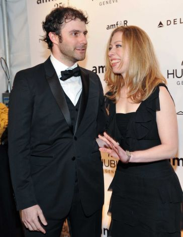 Chelsea Clinton and husband Marc Mezvinsky will welcome the new addition to their family later this year