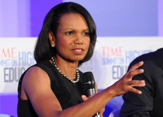 Condoleezza Rice's appointment to the board of file-sharing company Dropbox is being criticized by some service users