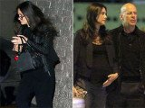 Demi Moore and Bruce Willis attended their daughter Rumer's musical performance at hotspot DBA in West Hollywood