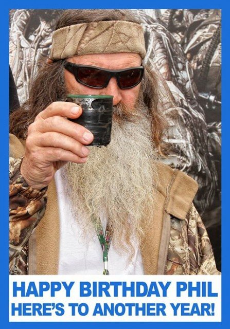 Duck Dynasty's patriarch Phil Robertson turned 68 on April 24