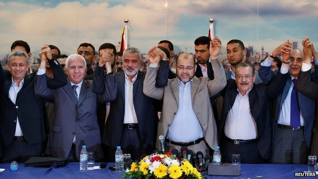 Fatah and Hamas have announced reconciliation deal photo