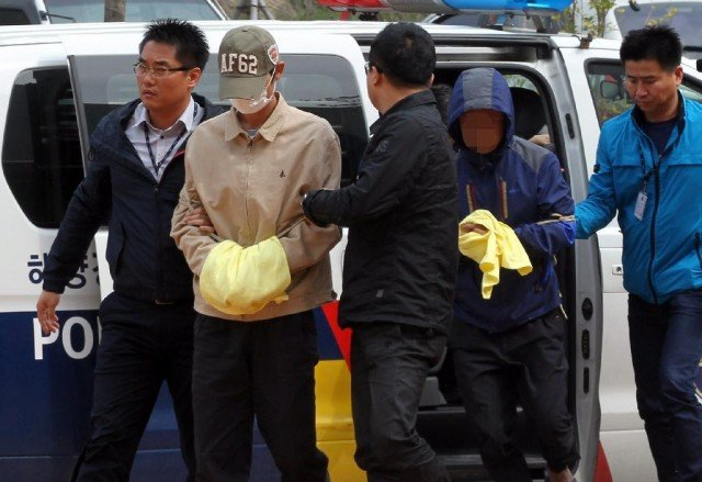 Four more crew members from Sewol ferry have been arrested bringing the total number detained to 11 640x439 photo