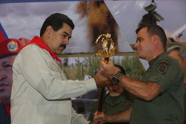 General Vladimir Padrino Lopez insists the security forces of President Nicolas Maduro respect the rule of law
