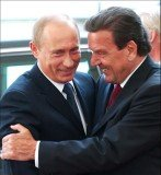 Gerhard Schroeder has long had close ties to Vladimir Putin and runs a pipeline venture bringing Russian gas to Germany