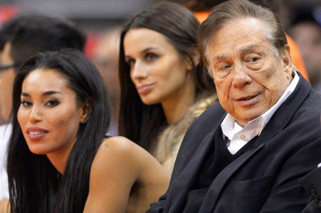 In a 10-minute audio recording, Donald Sterling can be heard criticizing V. Stiviano for posting online photographs of herself with black friends at Clippers games