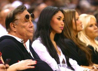 In a recording posted by TMZ, a man it says is Donald Sterling is heard asking his girlfriend V. Stiviano not to broadcast her association with black people nor bring them to games