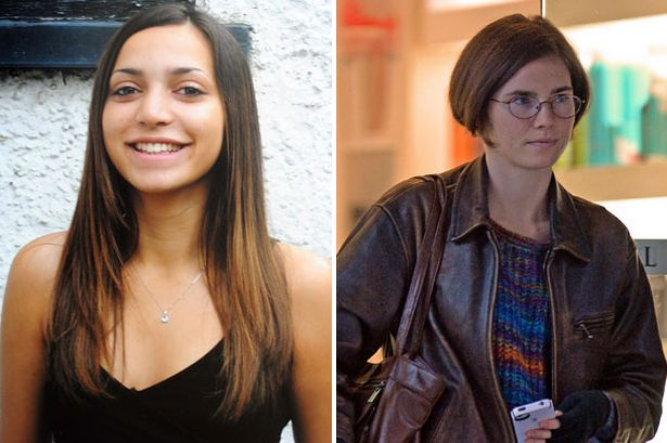 Italian judges said Amanda Knox and her Italian ex-boyfriend killed Meredith Kercher after a violent argument