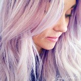 Lauren Conrad's purple hair was just a gag in honor of