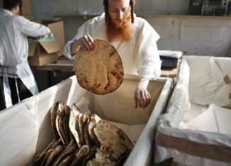 Matzo, which doesn't rise, is a traditional staple in Passover meals