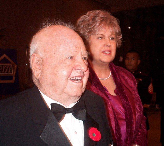 Mickey Rooney disinherited his wife Janice and all his children in his last will