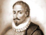Miguel de Cervantes was recorded as having died on April 22, 1616