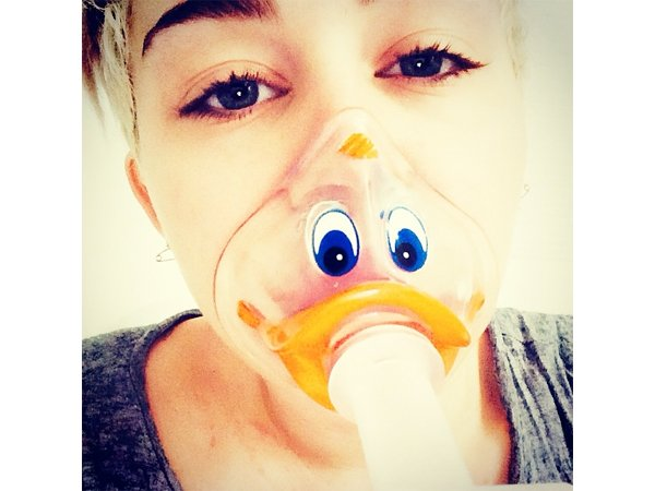 Miley Cyrus has been released from the hospital after being treated for a severe allergic reaction to antibiotics