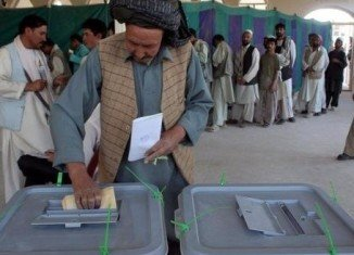 More than 7 million people out of an estimated eligible 12 million voted in Afghanistan's election for a new president