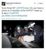 NYPD's plan to use Twitter to boost its image seems to have backfired