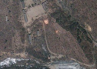 North Korea has increased the activity at its Punggye-ri nuclear test site ahead of President Barack Obama's visit to South Korea