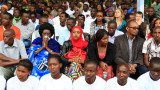 People gathered in Kigali ahead of a week of official mourning to mark the 20th anniversary of Rwanda's genocide
